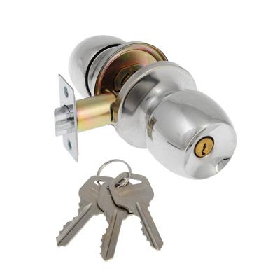 618-109 LARS Замок 6092-01 хром с ключом