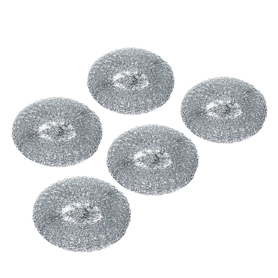 441-112 VETTA Набор губок металлических 5шт, плетенка, 20г