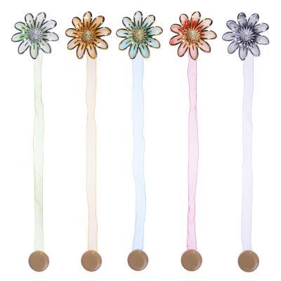 """491-386 Зажим для штор магнитный, 5 цветов, """"Нарцисс"""""""