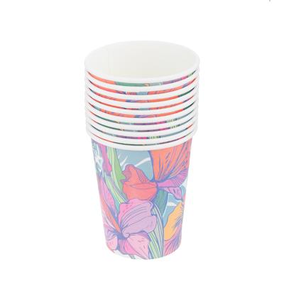 530-099 Набор стаканов 10шт, бумага, №1 Дизайн ГЦ