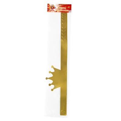 530-163 Корона праздничная, бумага, 18х11,5см, 2 дизайна