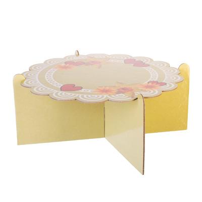 530-174 Подставка для пирожных, бумага, 12х26см