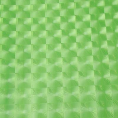 461-462 VETTA Шторка для ванной, винил, 180x180см, 12 колец, 3D, квадрат, салатовый