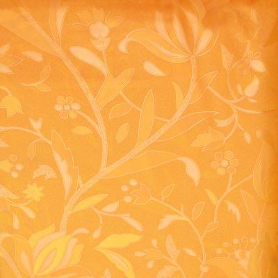 461-465 VETTA Шторка для ванной, винил, 180x180см, 12 колец, с рисунком, горчичный