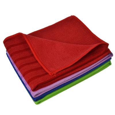 448-233 Набор салфеток для сильных загрязнений из микрофибры 2 шт, 30х40 см, 300 гр./кв.м, 4 цвета, VETTA
