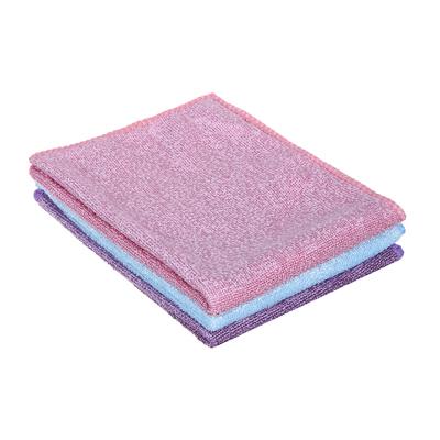 448-240 Набор салфеток для деликатных поверхностей из микрофибры 2 шт, 25х35 см, 280 гр./кв.м, 3 цвета, VETT