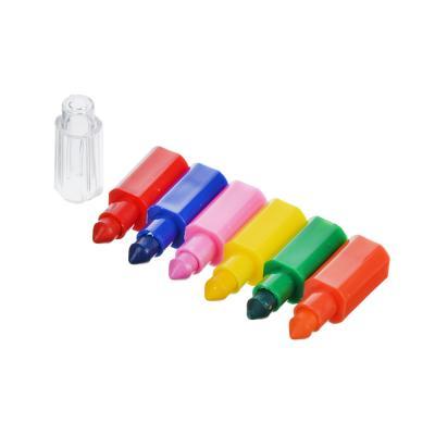 230-055 Мелок восковой составной, 6 цветов, пластик, 14 см