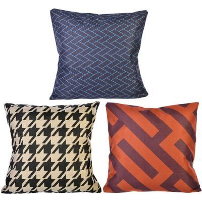 482-564 Декоративная наволочка для подушки, рогожка, 40х40см
