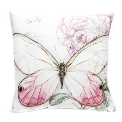 482-566 Декоративная наволочка для подушки, рогожка, 40х40см