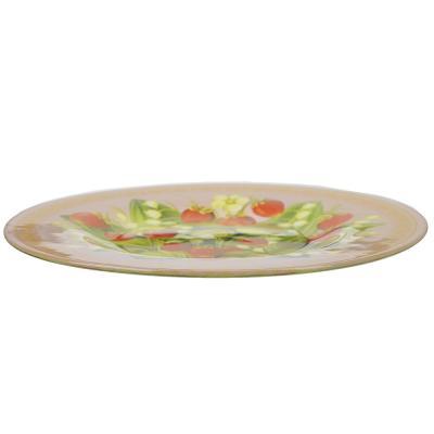 830-513 Сочная земляника Тарелка десертная стекло 200мм, S3008