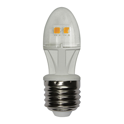 925-034 PROMO Лампа светодиодная Омега свеча С27, 3,5W, Е27, 300 Lm, 2700 К