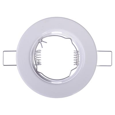 417-045 FORZA Светильник встраиваемый №1 MR16 цоколь GU 5.3 пластик d81мм
