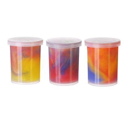 295-059 LASTIKS Игрушка-лизун в баночке жидкий, полимер, 4х4х4,5см, 3 цвета