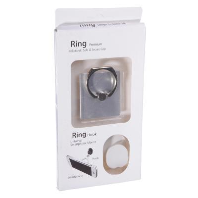 732-057 NEW GALAXY Кольцо-подставка для смартфона + крючок-фиксатор, 4x3,5x0,2см