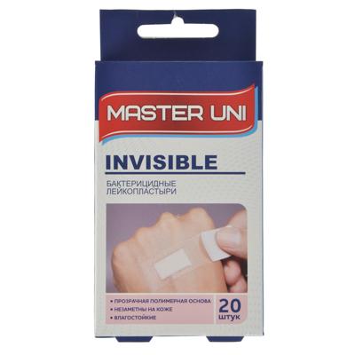 360-131 Лейкопластырь бактерицидный Прозрачный,  Master Uni