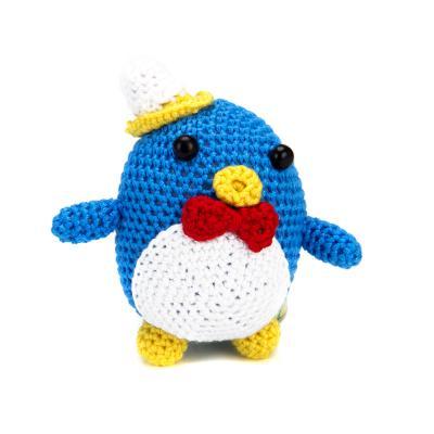 366-197 Набор для вязания игрушки, нитки мулине, 20,5х14,5см, 4 дизайна, #1