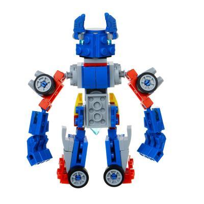 265-508 ИГРОЛЕНД Конструктор пластик, 67-77 дет., 6+, 6 дизайнов, 10х15х5см