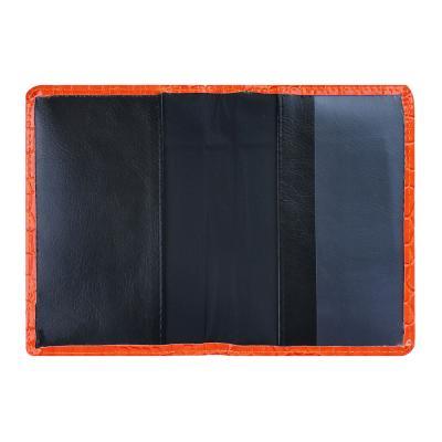 334-094 Обложка для паспорта, 13,7х9,6см, искусств.кожа, #1