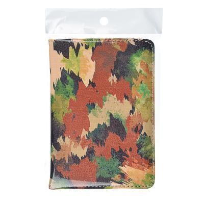 334-095 Обложка для паспорта, 13,7х9,6см, искусств.кожа, арт.2