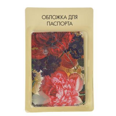 334-096 Обложка для паспорта, 13,7х9,6см, искусств.кожа, #3