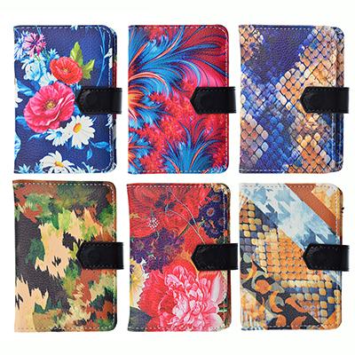 333-055 Визитница искусств.кожа, на 24 карты, 7,7х11см, 1-6 дизайнов, #4