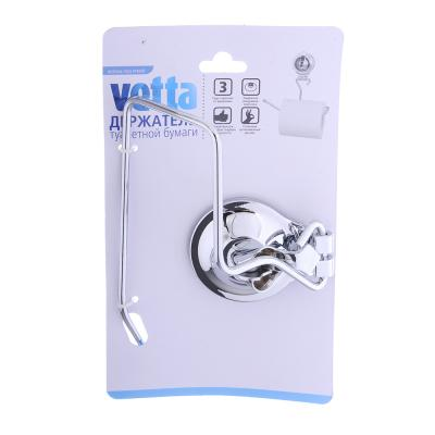 463-827 VETTA Держатель туалетной бумаги, хром, вакуумное крепление 161х75х148мм