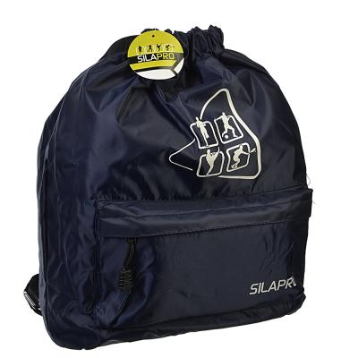 204-014 SILAPRO Сумка-рюкзак, полиэстер, 42x35см, 3 цвета с отливом