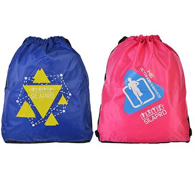 204-015 Сумка-рюкзак, полиэстер, 42x35 см, 2 цвета, SILAPRO