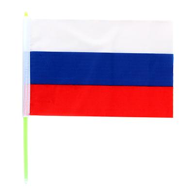 530-198 Флаг флуоресцентный, размеры около 20 см, пластик