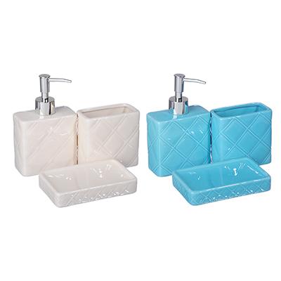 568-233 Набор для ванной 3 предмета, керамика, Лайт