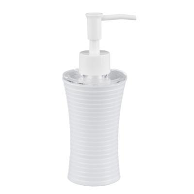463-839 Дозатор для жидкого мыла полосатый, пластик, 2 цвета, VETTA