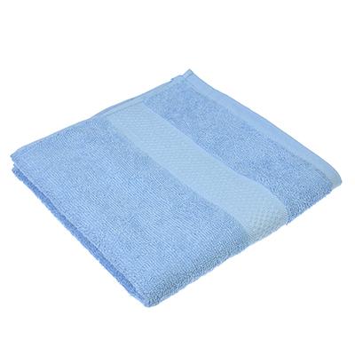 """489-109 Полотенце для лица махровое, хлопок, 50х90см, голубое, """"Grace"""""""