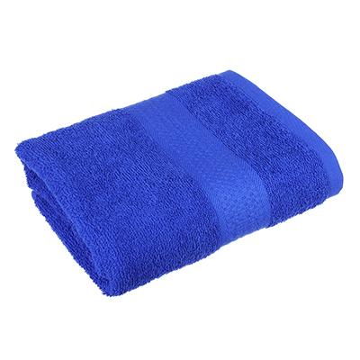 """489-111 Полотенце для лица махровое, хлопок, 50х90см, голубое, """"Grace"""""""