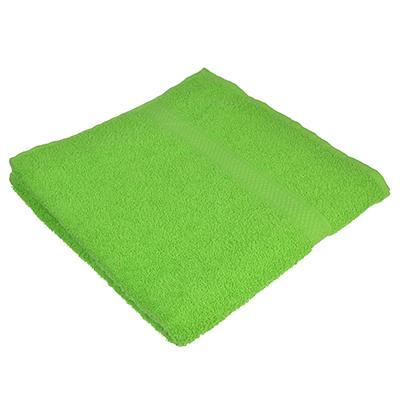 484-799 Полотенце банное махровое, 70х130см, зеленое