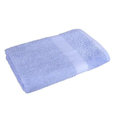 484-801 Полотенце банное махровое, 70х130см, голубое
