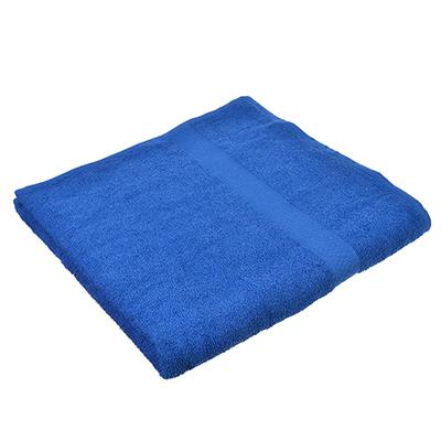 484-803 Полотенце банное махровое, 70х130см, синее