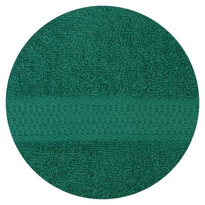 484-804 Полотенце банное махровое, 70х130см, зеленое