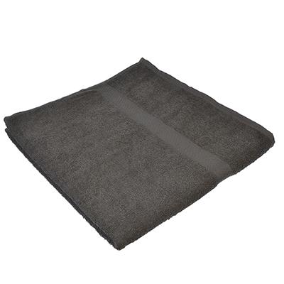 484-806 Полотенце банное махровое, 70х130см, серое
