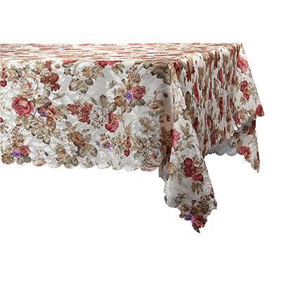 425-122 Скатерть на стол, полиэстер, 140x180см