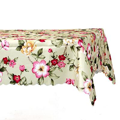 425-124 Скатерть на стол, полиэстер, 140x140см