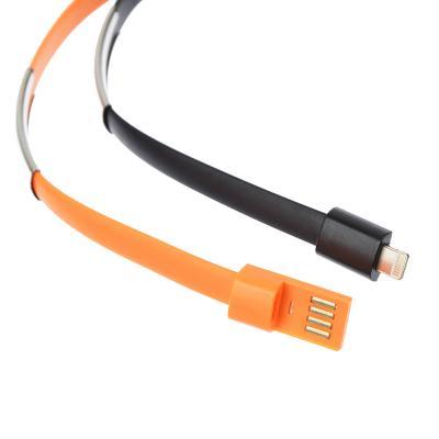 916-026 FORZA USB Шнур для зарядки с синхронизац. ПК., Браслет, 1А, 6 цветов , пластик, Эп