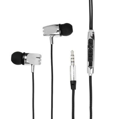 916-039 FORZA Наушники вставные с микрофоном, 100 см, 96±3dB, 3.5мм, 16Ом, 5 цветов