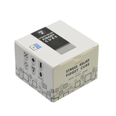 "295-095 Игрушка-антистресс ""Кубик Жми-Крути"", пластик, металл, 3,5см, 5 дизайнов, 4401"