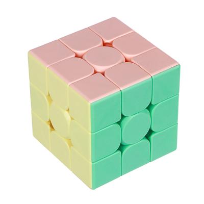 "295-098 Кубик-головоломка ""Собери цвета"", пластик, 5,6см, 6605B"
