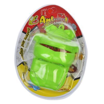 "295-102 Игрушка ""Зубастик. Береги пальцы. Мини"" пластик, 7,5х5,5х4,5см, 3 дизайна, 883"