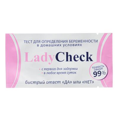 360-133 Тест на определение беременности тест-полоска,  ЛедиЧек