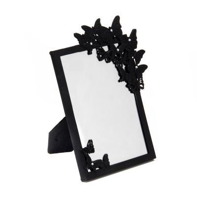 347-068 Зеркало настольное, 16,5х21,5 см, пластик, стекло, 2 цвета