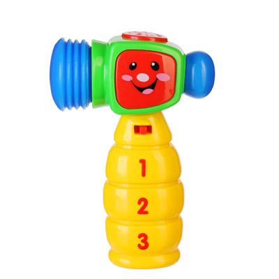 262-388 МЕШОК ПОДАРКОВ Игрушка электронная Говорящий Молоток, свет, звук, пластик, 2хААА, 9,5х4,5х14см