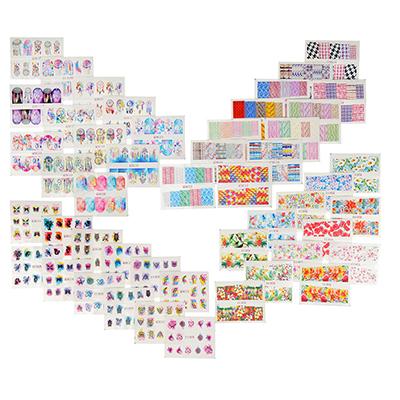357-151 Наклейки для дизайна ногтей, 36-48 дизайнов, #1