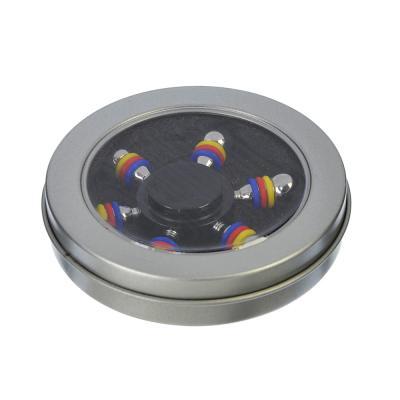 517-120 Спиннер, около 7,5см, металлический сплав, 5 цветов, арт 12075